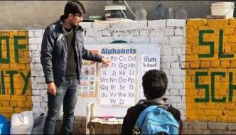 پاکستانی طالب علم کا کارنامہ، تعلیم کے ساتھ ساتھ کھانا اور کپڑے بھی مفت