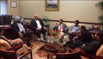 اسپین:عمر رانجھا کے اعزاز میں ری پبلکن لیڈر ساجد تارڑ کا عشائیہ