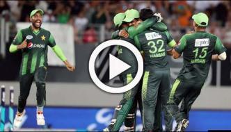 دوسراٹی20: پاکستان نے نیوزی لینڈ کو شکست دے دی