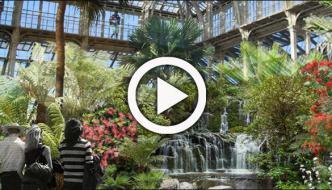 لندن میں نایاب ترین پودوں پر مشتمل شیش محل