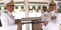 رئیر ایڈمرل عمران احمد نے لاجسٹک کمانڈ کی کمان سنبھال لی