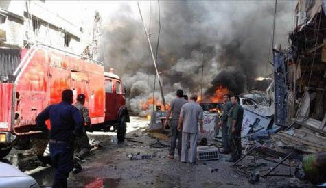 دمشق، روسی سفارتخانے پر راکٹ حملہ