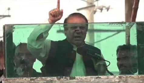 ووٹ کی حرمت کیلئے آئین بدلنا ہوگا، چیئرمین سینیٹ کی تجاویز پر ساتھ دینگے،  لاہور میں نواز شریف کا خطاب