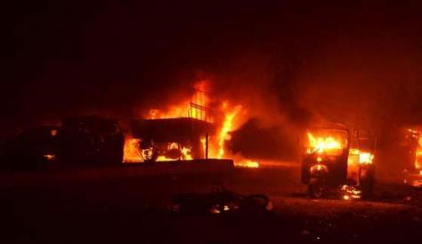 کوئٹہ ، فوجی گاڑی پر دہشت گردوں کا حملہ، 8 اہلکاروں سمیت 15 شہید، 25 زخمی