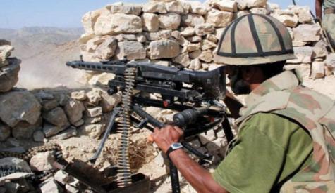 افغانستان سے دہشت گردوں کا پاکستانی چوکی پر حملہ، کیپٹن سمیت 2شہید، 10 حملہ آور ہلاک