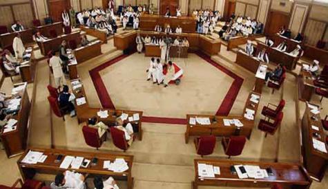 بلوچستان اسمبلی اب کنٹرول میں آگئی