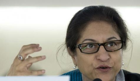 عاصمہ جہانگیر بہادر خاتون تھیں، سیکرٹری جنرل اقوام متحدہ