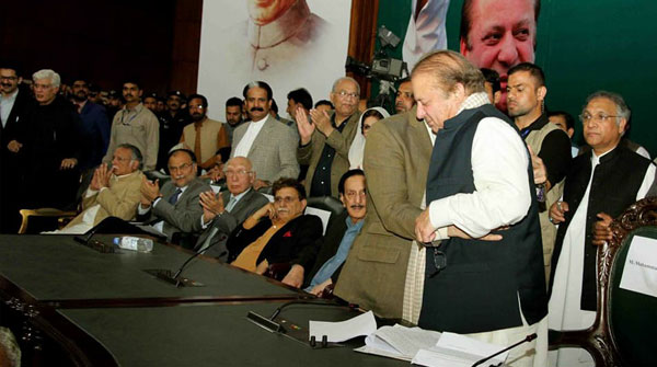 شہباز ن لیگ کے صدر منتخب، زرداری، عمران ہم پر بھاری نہیں، نواز شریف، قائد رہیں گے، شہبازشریف
