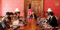 صدراشرف غنی کی وزیر اعظم شاہد خاقان عباسی کو دورئہ افغانستان کی دعوت