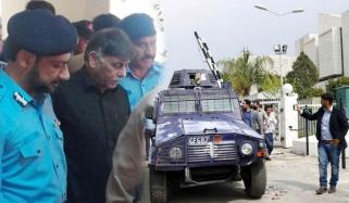 رائو انوار پیش،گرفتار، سپریم کورٹ نے توہین عدالت نوٹس ختم کردیا، بینک اکائونٹس بحال،ملزم کراچی منتقل