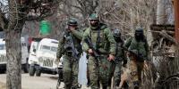 مقبوضہ کشمیر، بھارتی فوج کی گاڑی پر فائرنگ، 4 سیکورٹی اہلکار ہلاک