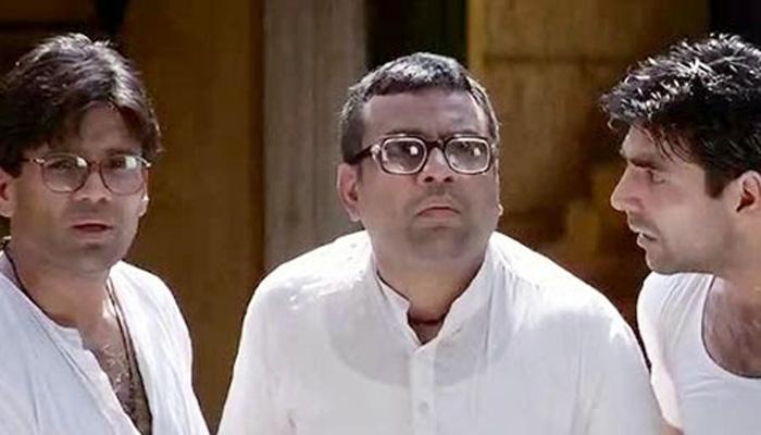 اکشے کمار اور سنیل شیٹھی کی تصویر دیکھ کر فلم ہیرا پھیری کی یادیں تازہ