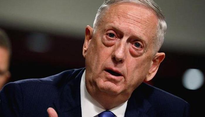شامی حکومت کے خلاف فوجی کارروائی خارج از امکان نہیں، امریکی وزیر دفاع