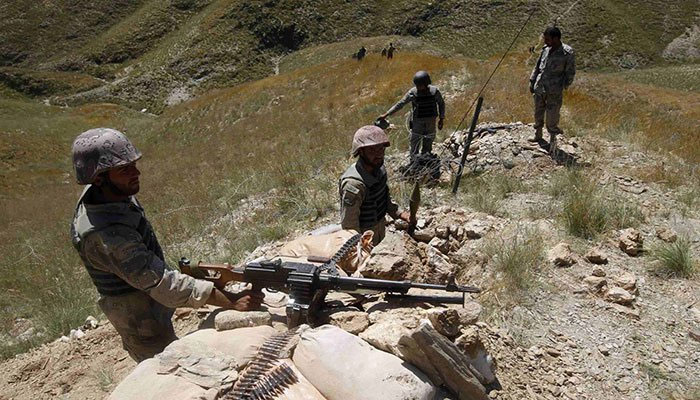 افغانستان سے پاکستانی علاقے پر حملہ، ایف سی کے 2 جوان شہید، 5 زخمی