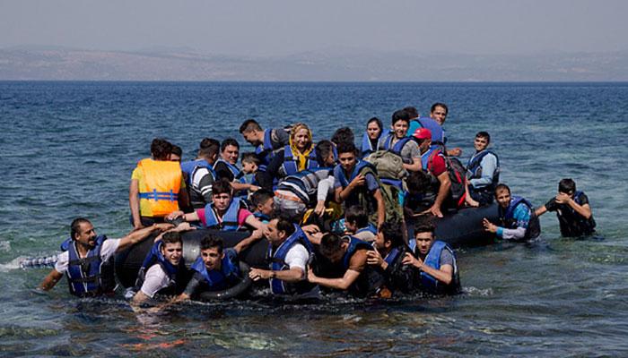 تارکین وطن کی ترکی سے یونان منتقل ہونے کی شرح بڑھ گئی، کئی گرفتار