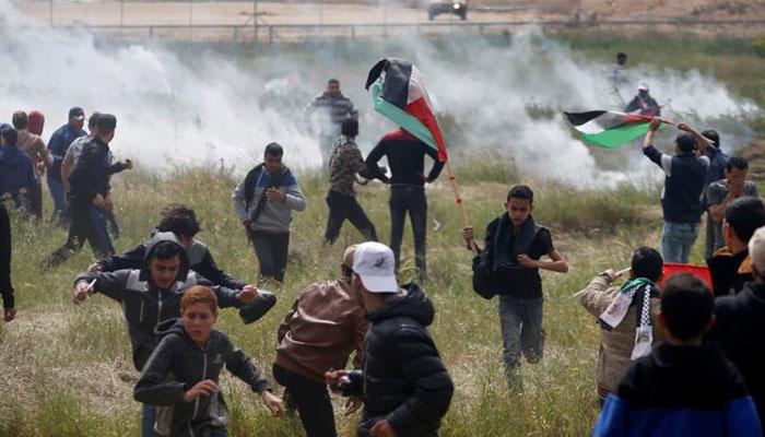 غزہ کی سرحد پر اسرائیلی فوج کی فائرنگ، 4 فلسطینی شہید