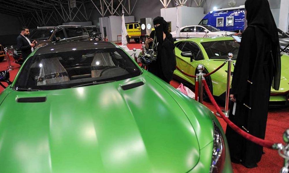 سعودی عرب، کار شو میں خواتین کی دلچسپی