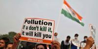 بھارت میں ماحولیاتی آلودگی کے خلاف مظاہرے، ہلاکتیں11ہوگئیں