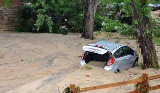 میری لینڈ میں سیلاب کی تباہ کاریاں