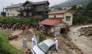 جاپان: بارش و لینڈ سلائیڈنگ سے شدید تباہی، ہلاکتیں 110ہوگئیں