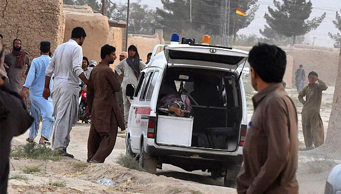 مستونگ میںخود کش حملہ،سراج رئیسانی سمیت 130 افراد جاں بحق