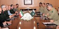 پاک ایران مسلح افواج میں تعاون مزید بڑھانے کی ضرورت ہے، آرمی چیف