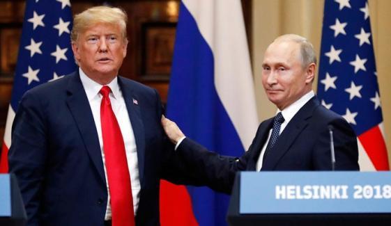 صدارتی انتخاب میں روسی مداخلت،ٹرمپ نے امریکی ایجنسیوں کا دعویٰ تسلیم کرلیا