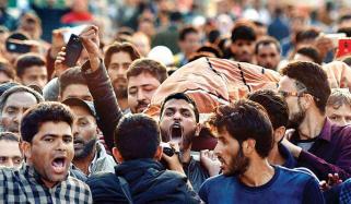 نوجوانوں کی مجاہدین کی صفوں میں شمولیت اور عوامی مزاحمت بڑے چیلنج ہیں،بھارتی اعتراف