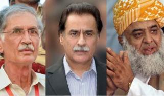 نازیبا زبا ن استعمال ،فضل الرحمٰن،ایا ز صادق ،پرویز خٹک کو حلف نامہ دینے کا حکم