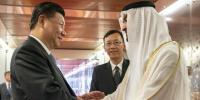 چینی صدر کا دورہ متحدہ عرب امارات مکمل