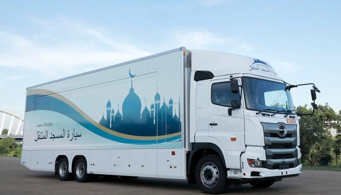 اولمپکس 2020 ،جاپان میں''موبائل مسجد تیار''