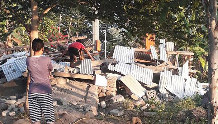 انڈونیشیا میں زلزلہ، 14 افراد ہلاک