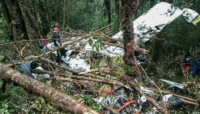 انڈونیشیا ،طیارہ گرکر تباہ ،تمام مسافر ہلاک، بچہ محفوظ رہا