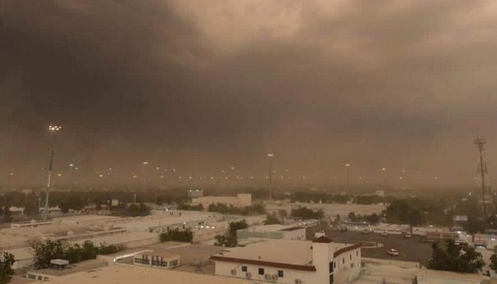 سعودی عرب، عازمین کو تیز بارشوں کا سامنا