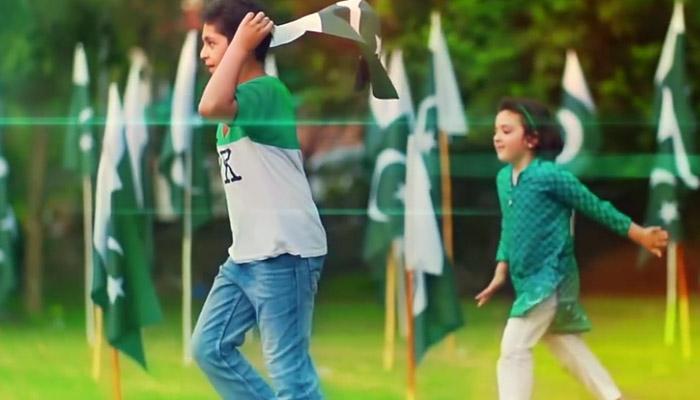 یوم دفاع کے موقع پر سوشل میڈیا پر آئی ایس پی آر کے ملی نغمے ''ہمیں پیار ہے پاکستان سے '' کی دھوم