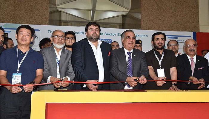 ایکسپو سینٹر میں 15 ویں ہیلتھ ایشیاء نمائش اور کانفرنس کا افتتاح