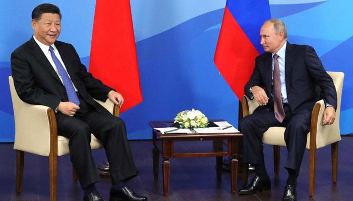 امریکا پر جوابی وارکیلئے تیار، روس اور چین تجارت میں ڈالرز کے استعمال میں کمی لائیں گے، پیوٹن