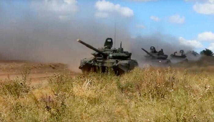 روسی تاریخ کی سب سے بڑی جنگی مشقیں شروع، چین شریک