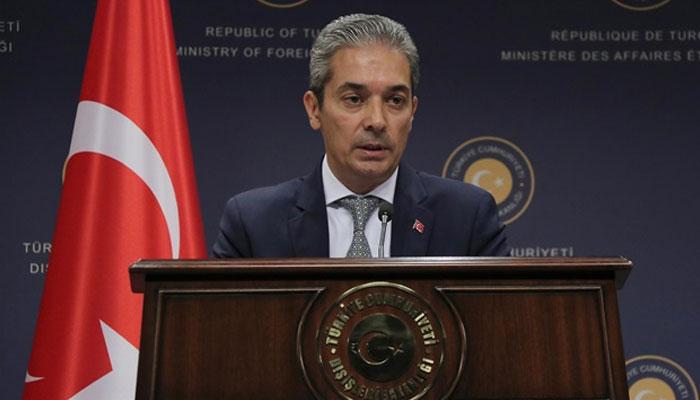 امریکا کا فلسطینی مشن کو بند کرنا خطرے کی گھنٹی ہے، ترکی