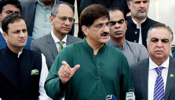 کسی کو مارکر ڈیم نہیں بنایا جاسکتا، دیامربھاشا ڈیم کے مخالف نہیں، کچھ تکنیکی تحفظات ہیں، وزیراعلیٰ سندھ