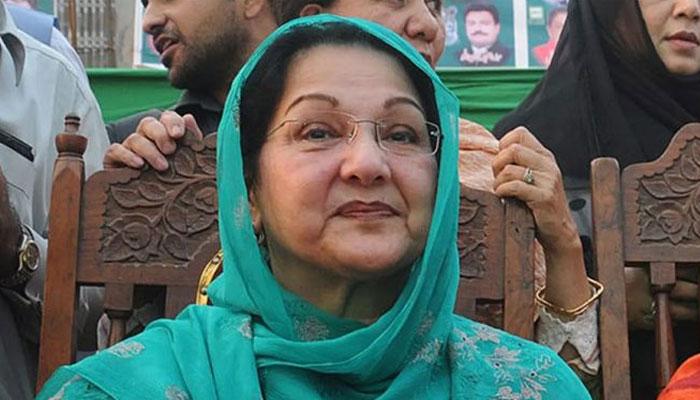 بیگم کلثوم نواز کی میت لندن سے پاکستان کے لیے روانہ
