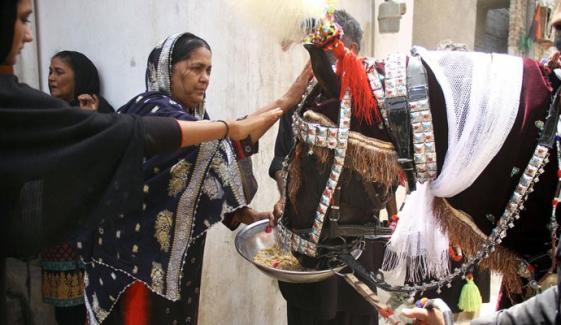 حیدرآباد، شہر اور ملحقہ علاقوں سے ذوالجناح کے 18 ماتمی جلوس برآمد ہوئے