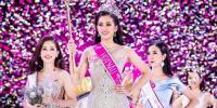 'مس ویتنام 2018' کا تاج یونیورسٹی میں زیرِ تعلیم حسینہ نے اپنے نام کر لیا