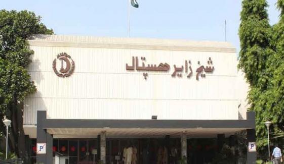 شیخ زید اسپتال رحیم یار خان، لیڈی ڈاکٹر سے زیادتی کی کوشش، احتجاج