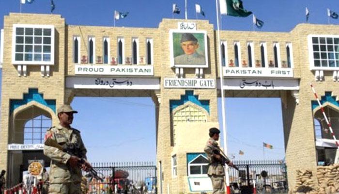 چمن بارڈر پر پاکستان اور افغانستان فورسز میں کشیدگی، افغان سرحدبند