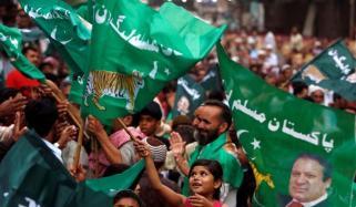 پنجاب میں (ن) لیگ کے کارکنوں کا بھرپور جشن