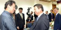 چین کے وزیر بین الاقوامی ترقی سونگ تائو کی وزیراعظم عمران خان سے ملاقات