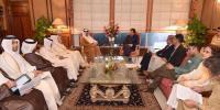 قطری وزیرخارجہ ,وزیراعظم ملاقات،پاکستانیوں کو ایک لاکھ ملازمتوں کی پیشکش