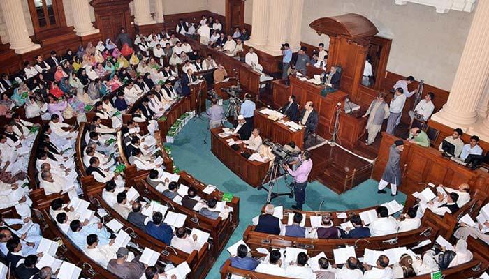 پنجاب اسمبلی میں بھی ہنگامہ،ڈونکی کنگ نامنظور،ڈاکو راج،چور چور کے نعرے