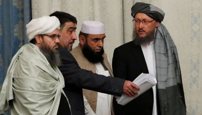 طالبان وفد کا امریکی فوجیوں کے افغانستان سے مکمل انخلا کا مطالبہ